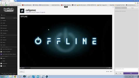 Tutorial on how to add an Offline banner into Twitch TV