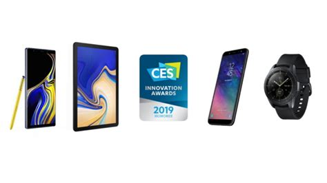 Samsung Wins 30 CES 2019 Innovation Awards for Outstanding