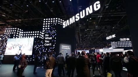 [Video] Take a Virtual Tour of Samsung's CES 2019 Booth