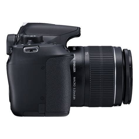 Canon EOS Rebel T6 DSLR with EF-S 18-55mm Lens and EF 75